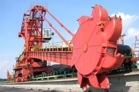 Bucket Wheel Stacking Reclaiming Machine