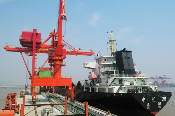 Ship-Unloading-Machine