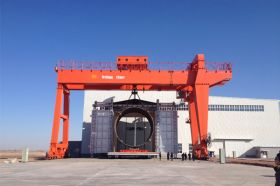 Weihua Gantry Crane Project Cases Pictures
