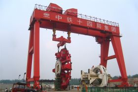 Gantry Crane for Tunnel Boring Machine