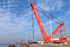 Fixed Dock Crane