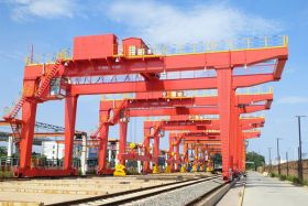 RMG Crane for Steel Track Hand...
