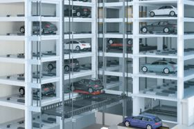 Automated Parking Garage with ...