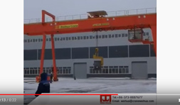 Video of 32 Ton Gantry Crane for Russia Project