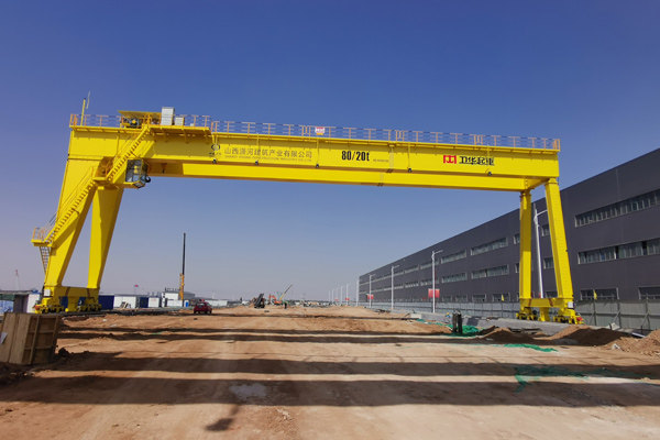 Gantry Crane for Steel Structure Company